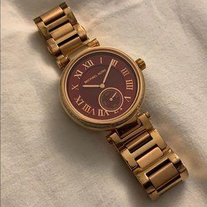 Michael Kors Rose Gold Watch MK6086